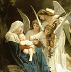 Song of Angels by Bouguereau