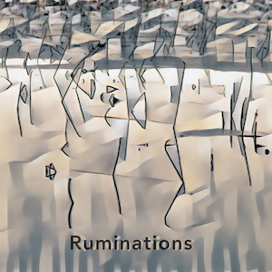 Ruminations album cover