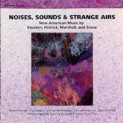 CD Cover of Noises, Sounds and Strange Airs