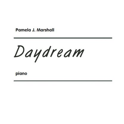 Cover for Daydream, intermediate-level music for piano
