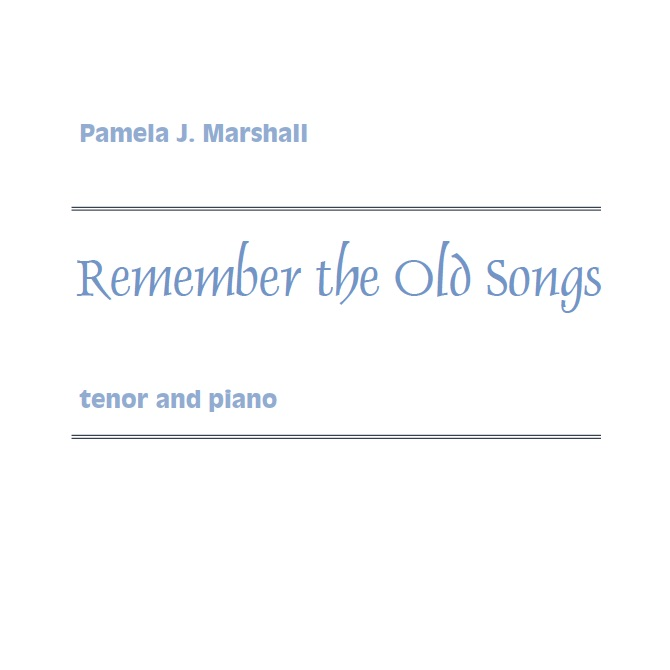 Cover page from Remember the Old Songs