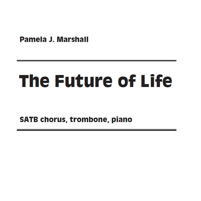 Cover of The Fugure of Life for chorus