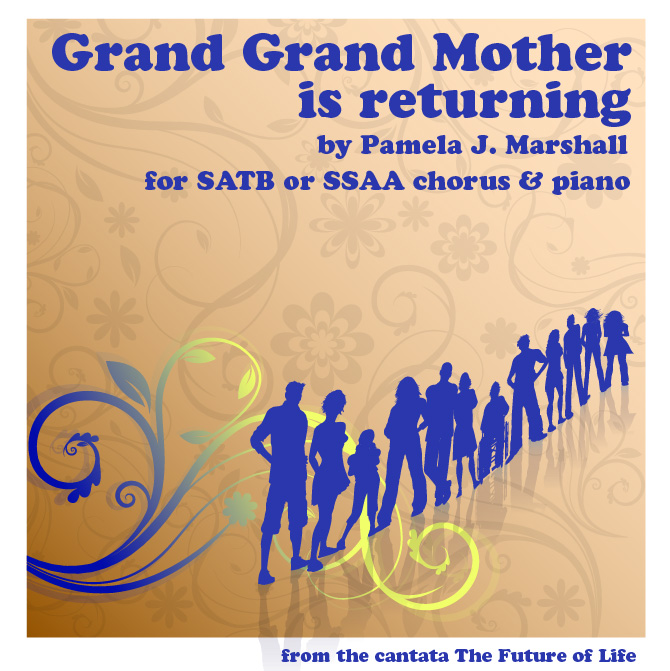Cover of Grand Grand Mother is returning, for chorus