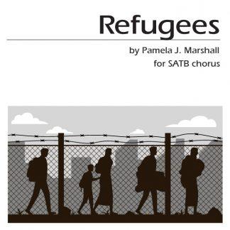 Refugees, SATB, cover
