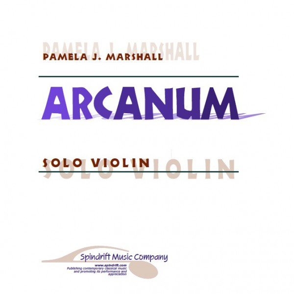 Arcanum, contemporary violin solo