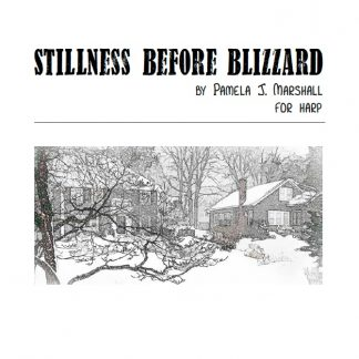 Stillness Before Blizzard, contemporary harp solo