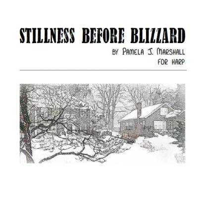 Stillness Before Blizzard, contemporary harp solo