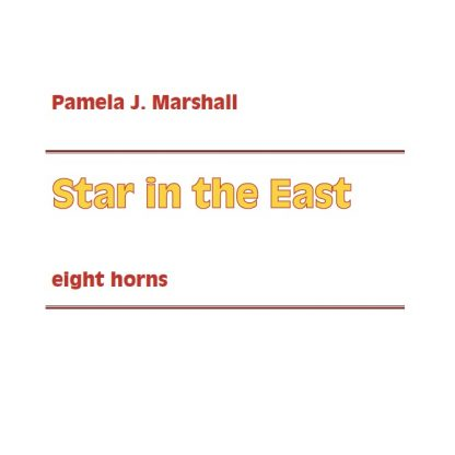 Cover for Star in the East, Christmas music for horn ensemble